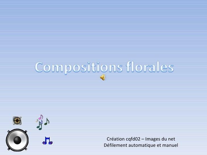 Création cqfd02 – Images du net Défilement automatique et manuel