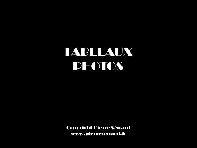 TABLEAUXPHOTOSCopyright Pierre Sénardwww.pierresenard.fr