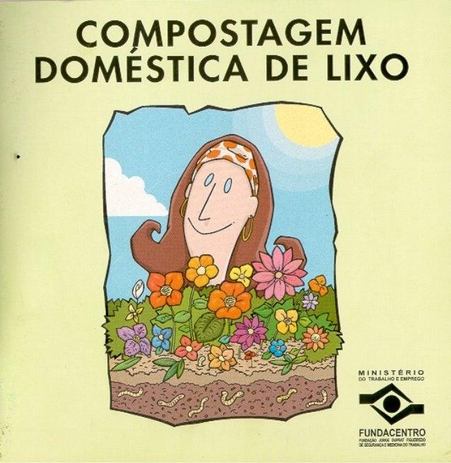 COMPOSTAGEM DOMÉSTICA DE LIXO