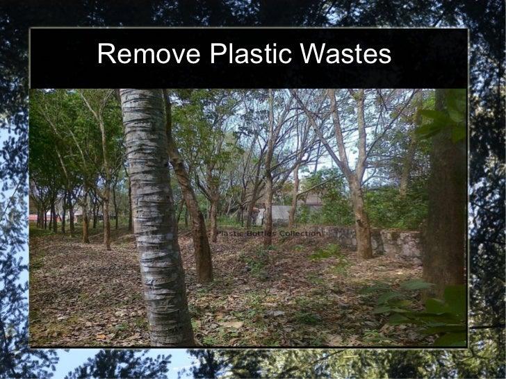 Remove Plastic Wastes