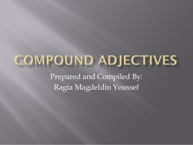 Prepared and Compiled By:Ragia Magdeldin Youssef