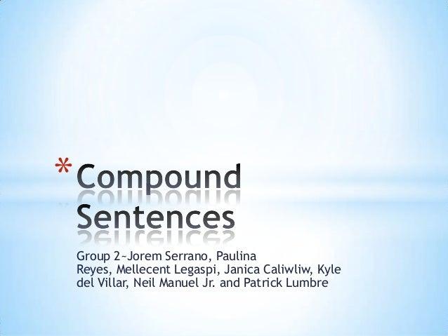Group 2~Jorem Serrano, Paulina Reyes, Mellecent Legaspi, Janica Caliwliw, Kyle del Villar, Neil Manuel Jr. and Patrick Lum...