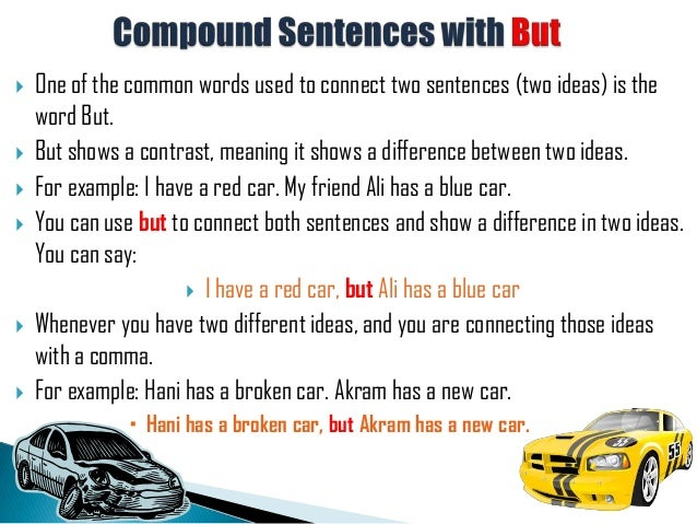 Compound sentences with but for Divan used in a sentence
