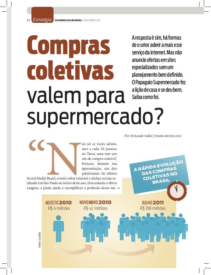 57   Estratégia             SUPERMERCADO MODERNO • NOVEMBRO 2011Compras                                                   ...