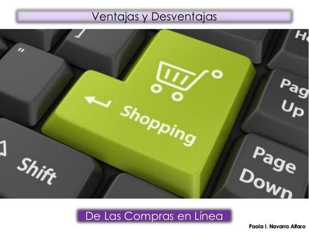 88f46d26b Ventajas y desventajas de Comprar en línea