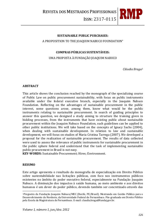 REVISTA DOS MESTRADOS PROFISSIONAIS                                                  ISSN: 2317-0115                      ...
