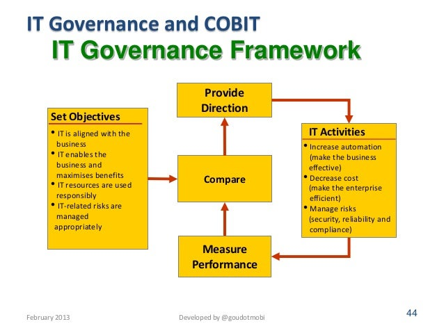 information technology governance I nformation technology is aligned with the office of the senior vice president for finance and administration, cfo and coo in order ensure continued success, it teams are informed by several committees.