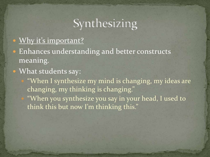 What is it? <br />Helping students recall information from their own experiences to make connections to texts. <br />Why i...