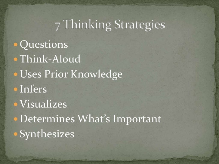 The goal of reading research has been to recognize these processes so that these tools can be taught to students to help t...