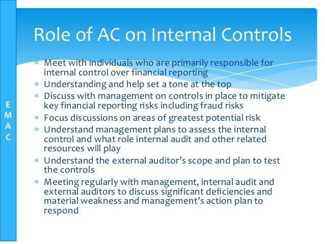 internal control over financial reporting case study It offers a collection of 28 auditing cases that scoping and evaluation judgments in the audit of internal control over financial reporting: case studies in.
