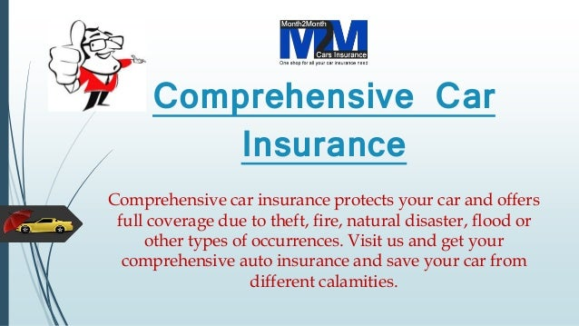 Does Car Insurance Cover Theft: Cheapest Comprehensive Car Insurance Quote With Full Coverage
