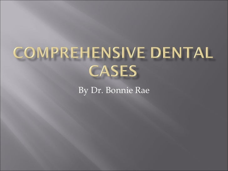 By Dr. Bonnie Rae