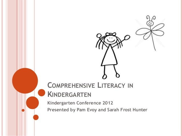 COMPREHENSIVE LITERACY INKINDERGARTENKindergarten Conference 2012Presented by Pam Evoy and Sarah Frost Hunter
