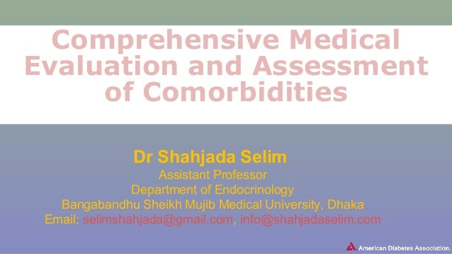 Dr SelimComprehensive Medical Evaluation And Assessment Of Comorbidi