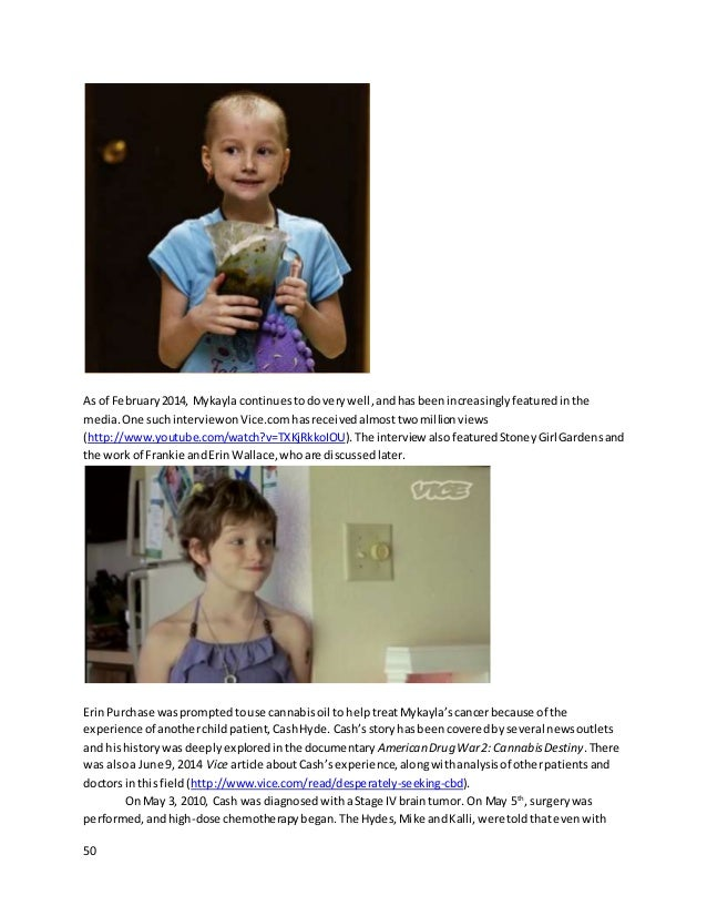 50 As of February2014, Mykayla continuestodoverywell,andhasbeenincreasinglyfeaturedinthe media.One suchinterviewonVice.com...