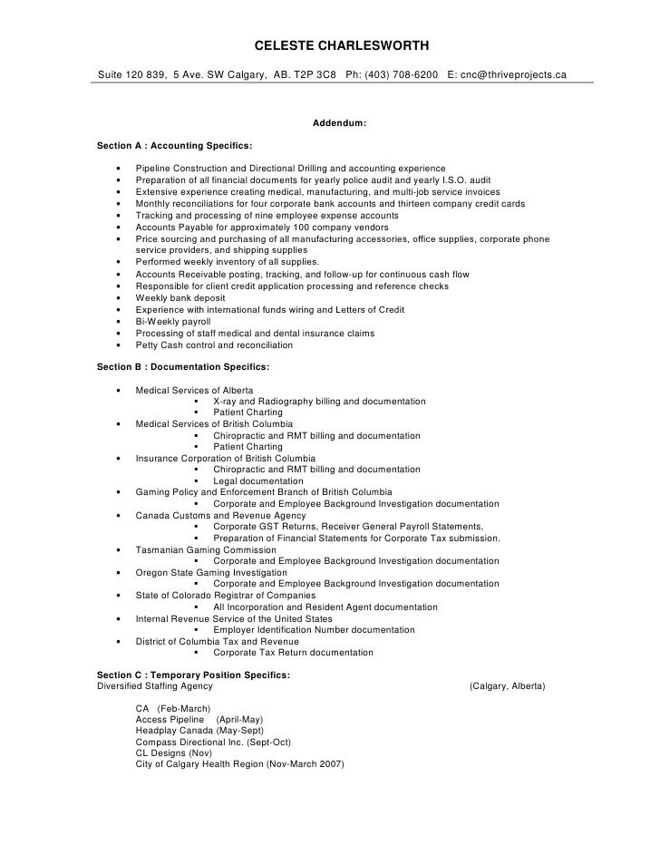 3 - Comprehensive Resume Template