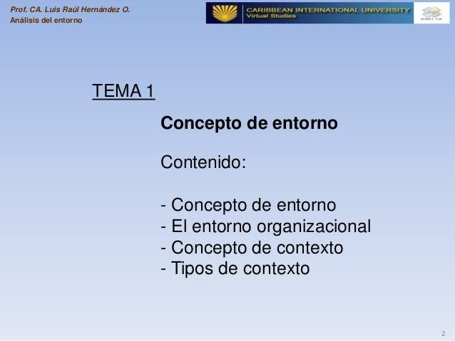 Comprendiendo el entorno   1 Slide 2
