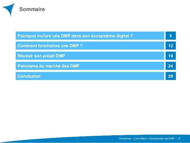 Comprendre Les DMP Converteo Juin 2015 Slide 2