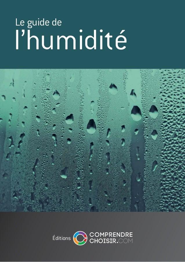 Le guide de  l'humidité  éditions