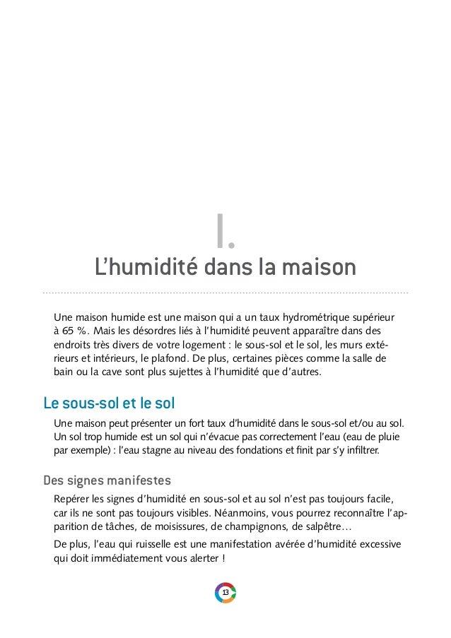 Comprendre  Choisir  Le Guide De LHumidite