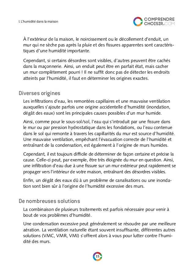 Comprendre & Choisir : Le Guide De L'Humidite