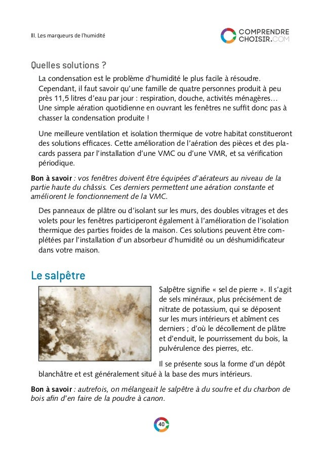 Comprendre choisir le guide de l 39 humidite - Comment eviter la condensation sur les fenetres ...