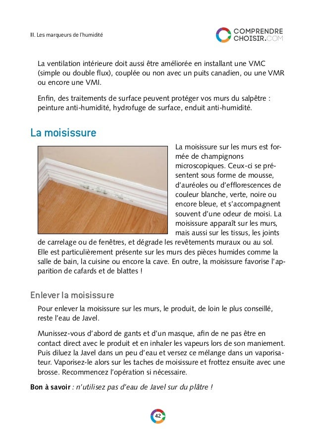 comprendre choisir le guide de l 39 humidite. Black Bedroom Furniture Sets. Home Design Ideas