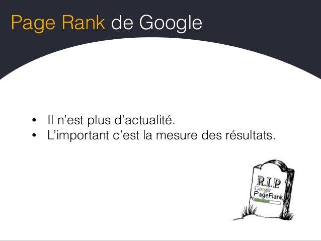 Comment découvrir des sources ? • Vos concurrents ils font quoi ? • Sur vos résultats de recherche qui est présent ? • Cer...