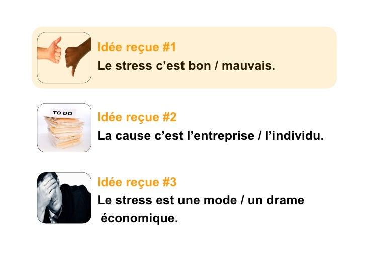 Comprendre le stress for Le stress