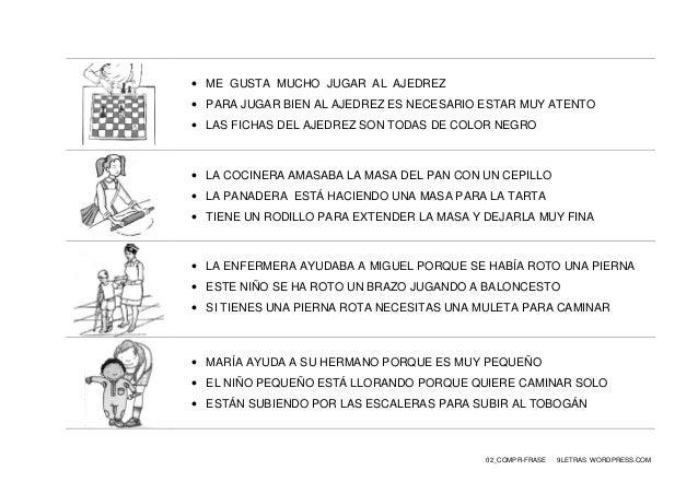 02_COMPR-FRASE 9LETRAS WORDPRESS.COM  ME GUSTA MUCHO JUGAR AL AJEDREZ  PARA JUGAR BIEN AL AJEDREZ ES NECESARIO ESTAR MUY...