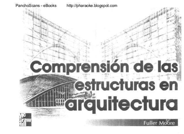 comprension de estructuras en arquitectura
