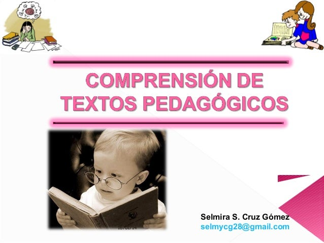 16/01/14  Selmira S. Cruz Gómez selmycg28@gmail.com