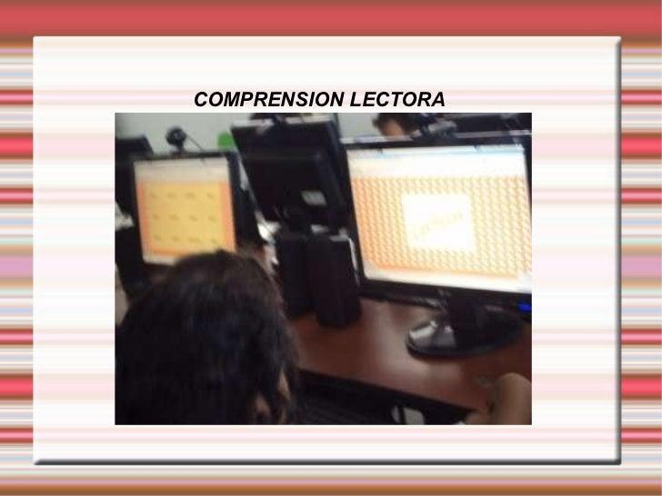 COMPRENSION LECTORA