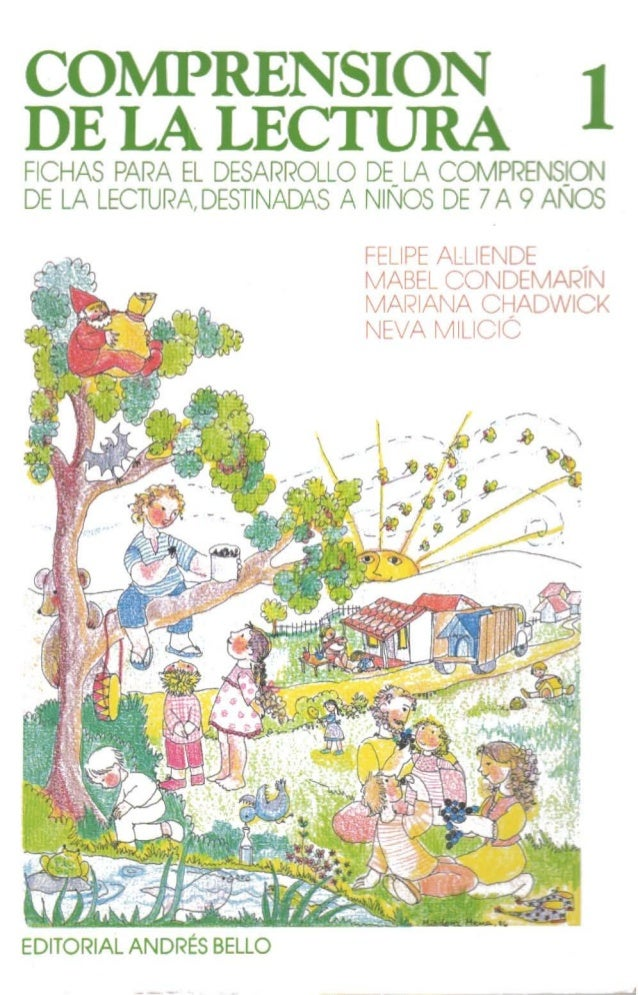 comprension de la lectura 2 felipe alliende pdf gratis