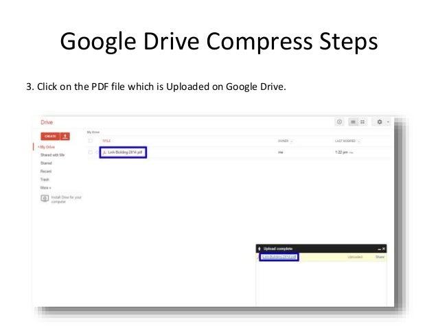 compress a pdf in windows