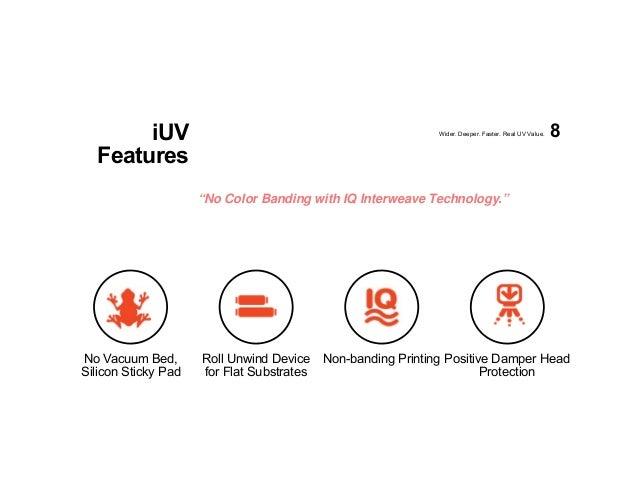 New Compress iUV-1200s UV LED Inkjet Printer