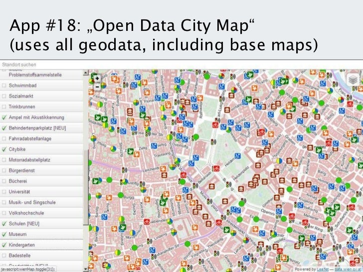 Open Government Data vin the City of Vienna