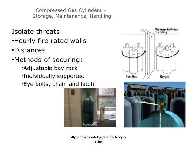 Compressed Gas Cylinders u2013 Storage ...  sc 1 st  SlideShare & Compressed gas safety