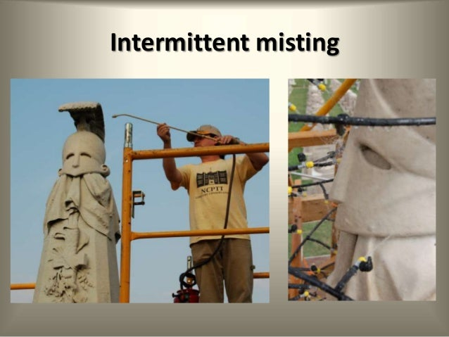 Intermittent Mist System : Ncptt materials conservation program