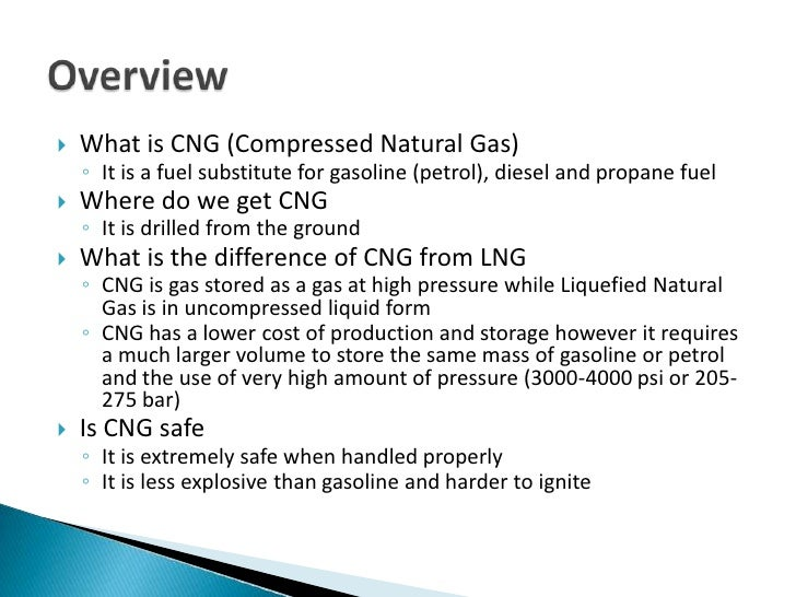 Compressed Natural Gas