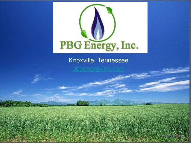 Knoxville, Tennessee pbgenergyinc.com