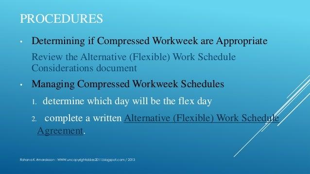 Compressed Workweek