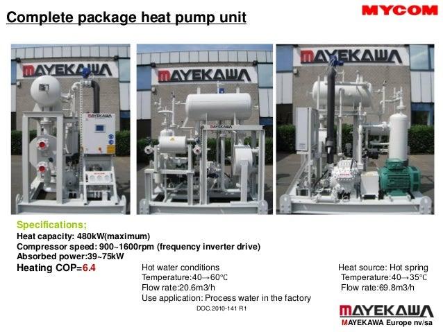 Compresseur hp heatpump