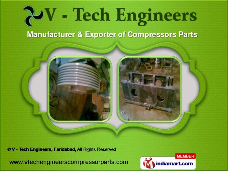 Manufacturer & Exporter of Compressors Parts