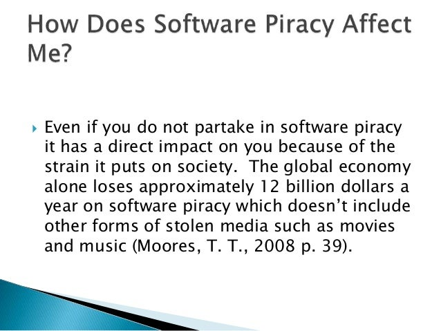impacts of music piracy The invention of the internet and digital media created music piracy in its modern form  nor unreasonably impact on the internet as an effective communications .