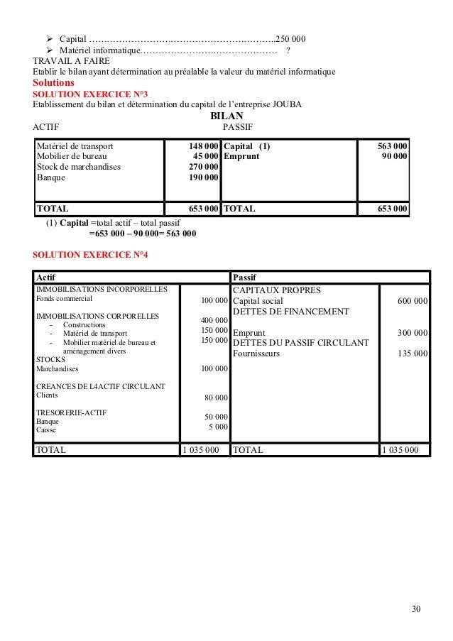 Compta ebook comptabilit g n rale de l 39 entreprise cours - Materiel de bureau comptabilite ...