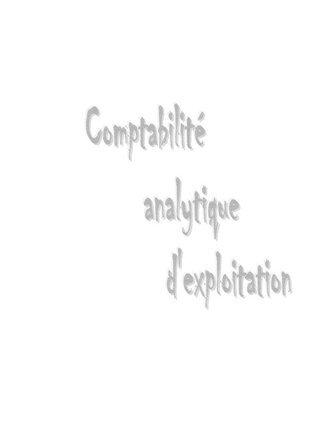 1- Introduction générale  I. Rappel sur le rôle de la comptabilité générale Elle fait apparaître périodiquement : la situa...