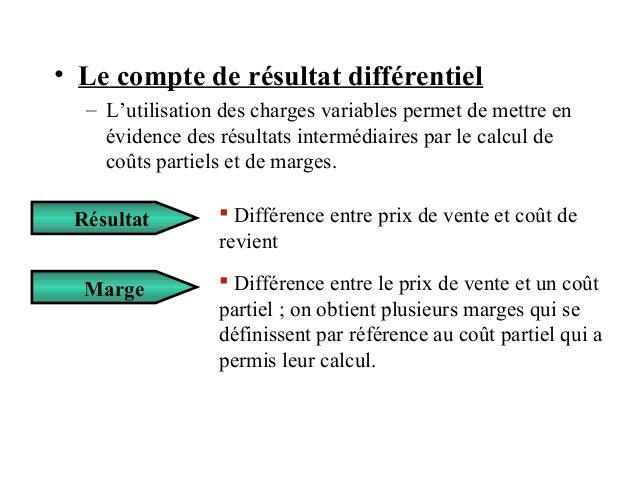 compta analytique