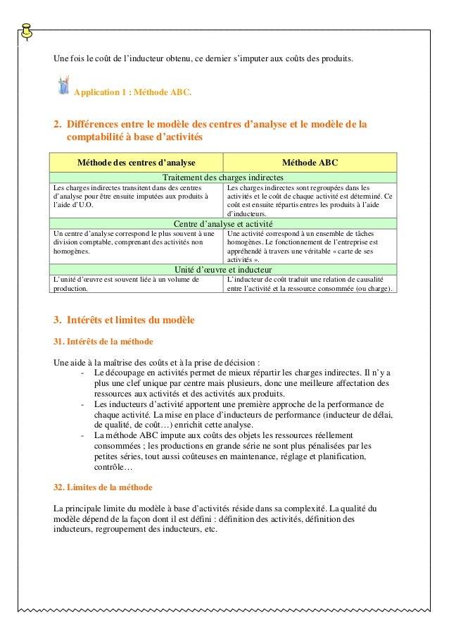 ComptaBILITE analytique S3 methode_abc Slide 3