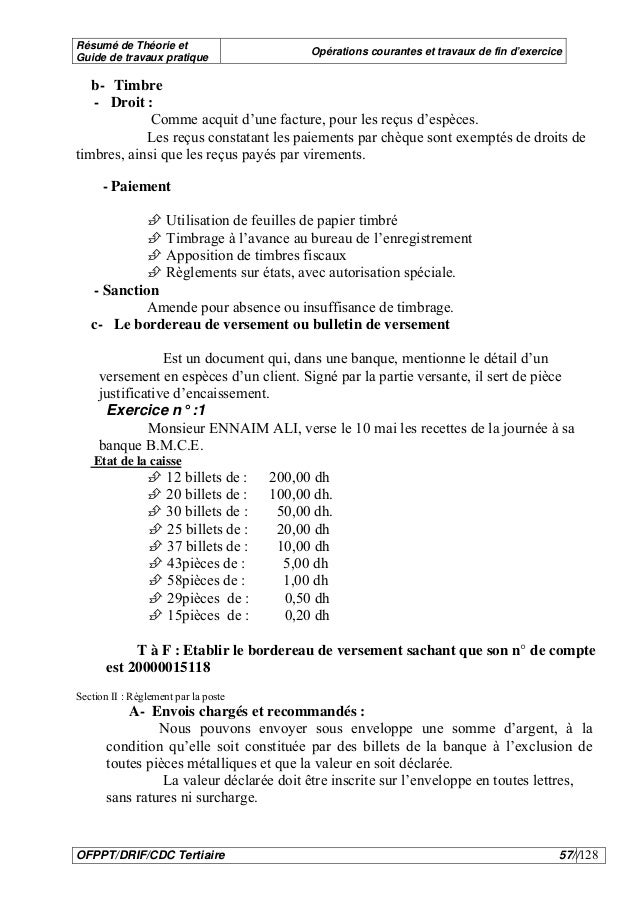 Comptabilite Des Operations Courantes 121221055140 Phpapp02